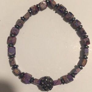 💲2 for $10💲 beaded bracelet fire ball